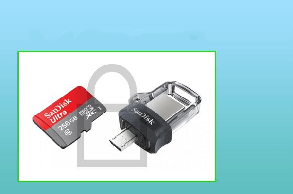 Encrypt flash drive